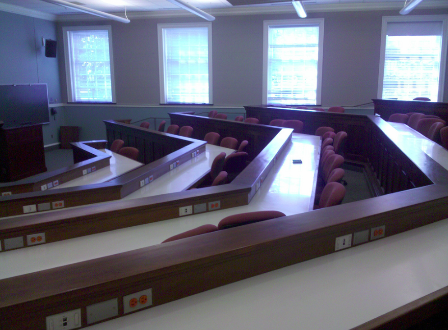 The University Classroom: let's make it a place where students WANT to be! (photo by M. Pourde)