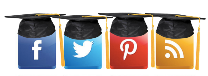 Social Media in Higher Education: here to stay (photo from mkhmarketing, available under creative commons)