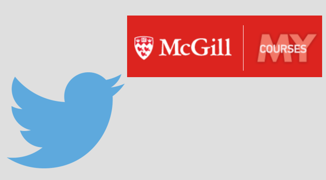 myCourses + Twitter header