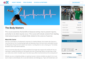 The Body Matters screenshot