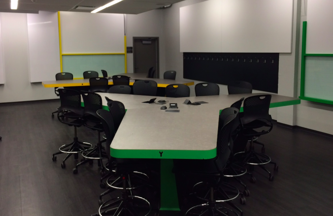 The Active Learning classroom