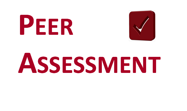 Implementing peer assessment for the first time | Teaching ...